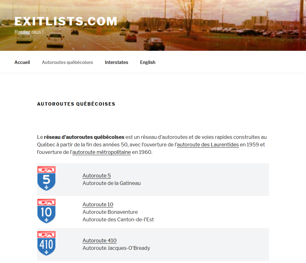Exitlists.com par Technologies Intellectuelles M.A.T.