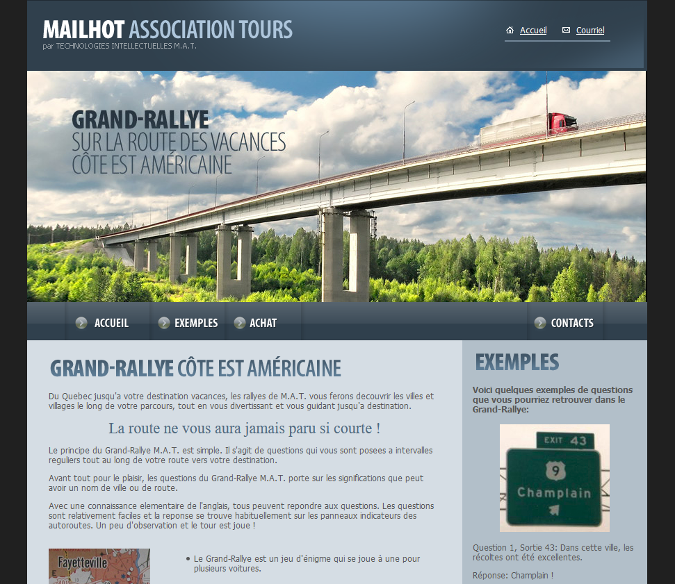 Grand-Rallye par Technologies Intellectuelles M.A.T.